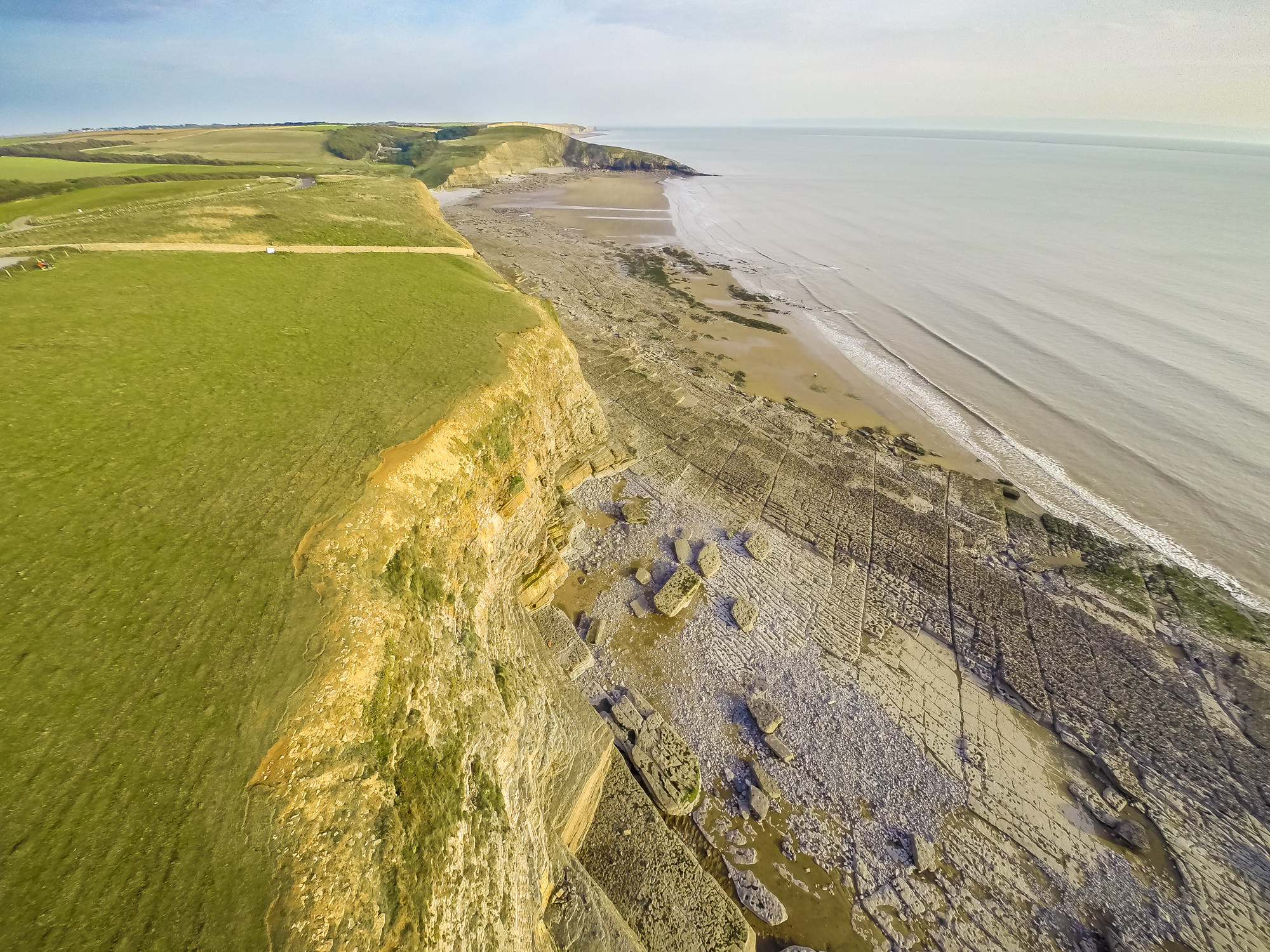 Southerndown South Wales Aerial Photography Wales