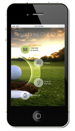 Golf Course Aerial Filming App