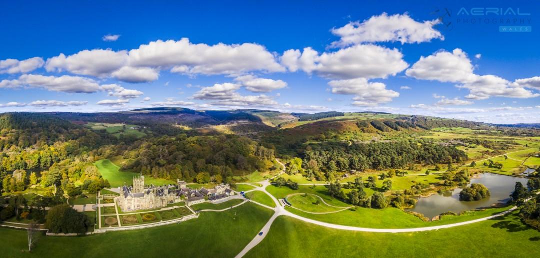 Margam Park – Aerial Photography Neath & Port Talbot