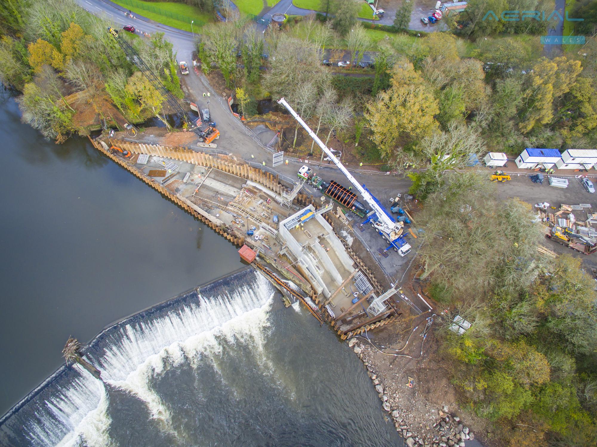 Radyr Weir Hydro Scheme-25