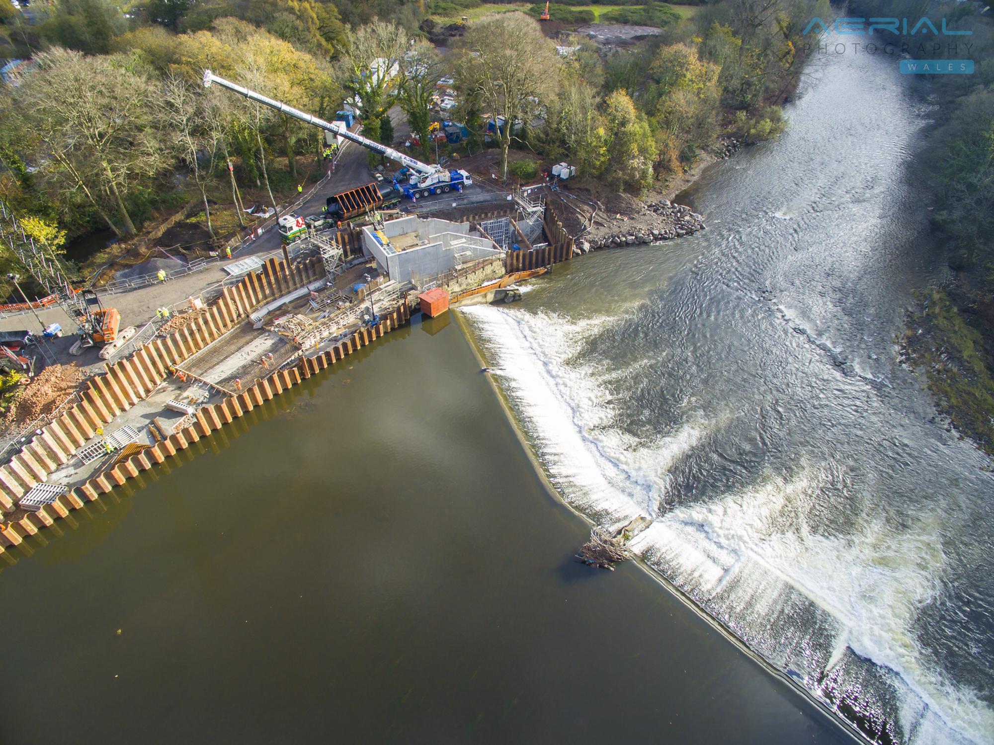 Radyr Weir Hydro Scheme-39