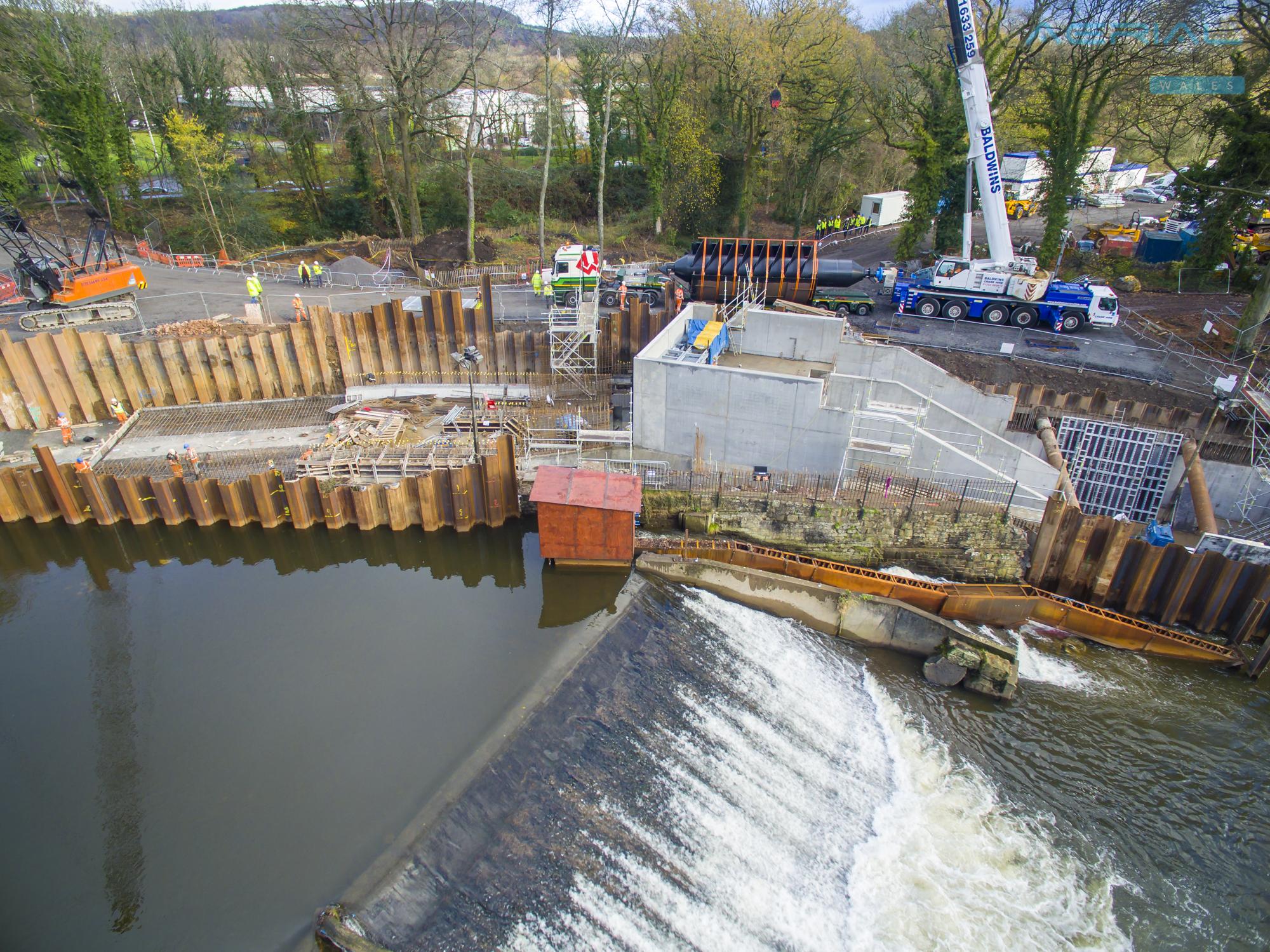 Radyr Weir Hydro Scheme-42