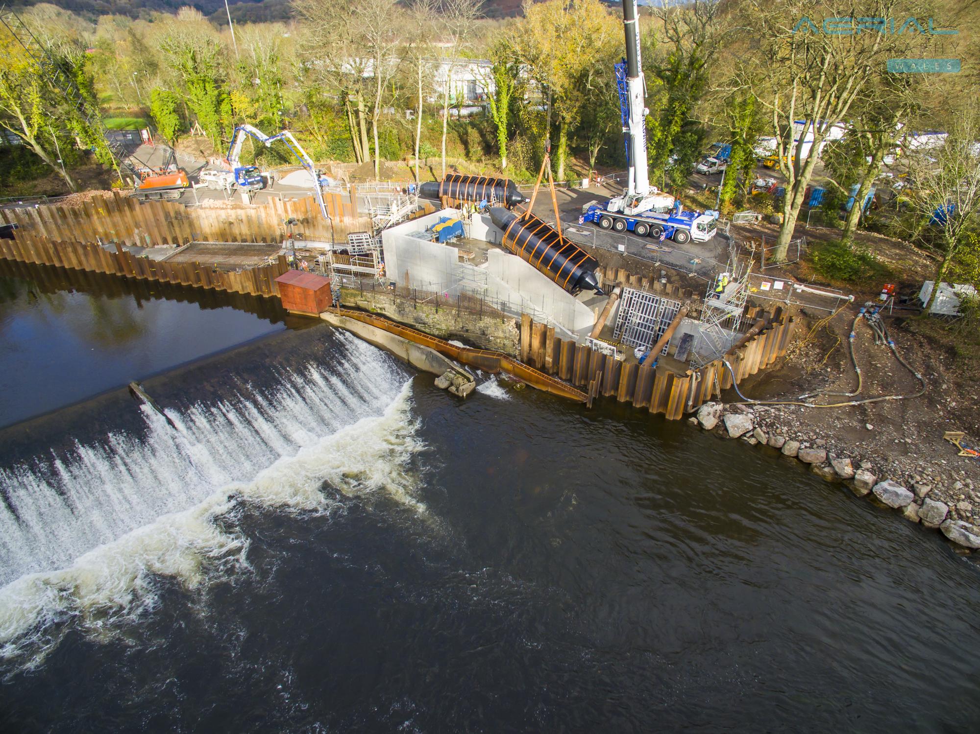 Radyr Weir Hydro Scheme-97