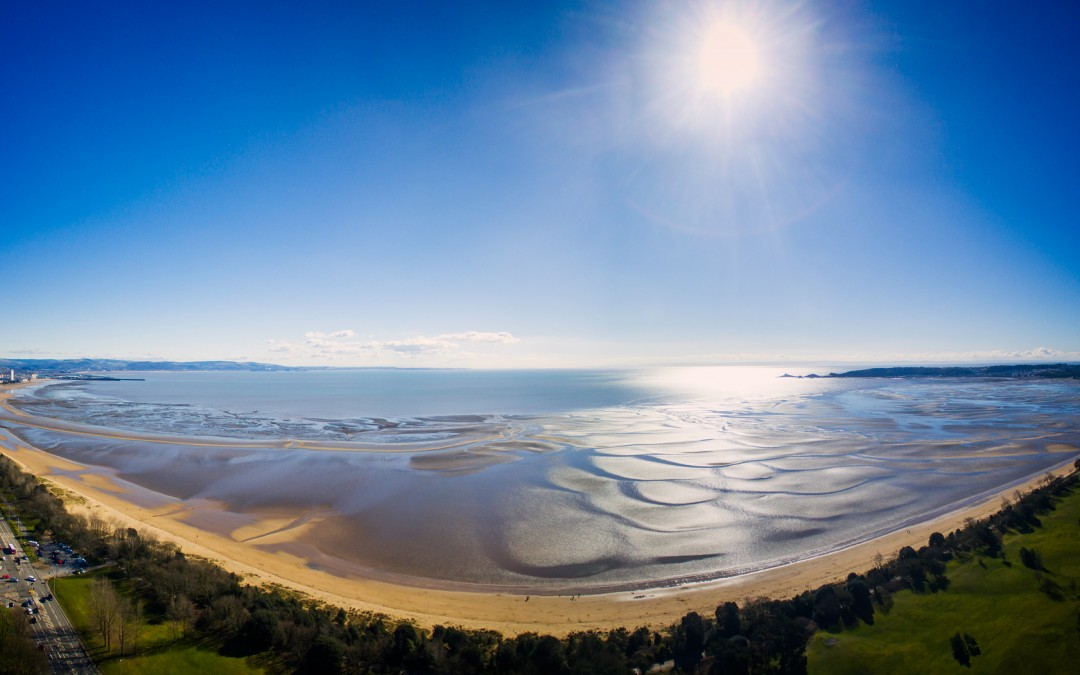 Aerial Photography Swansea – Come on Wales!