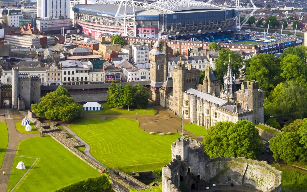 Millennium Stadium Aerial Photographs – Wales