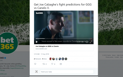Joe Calzaghe for Bet365