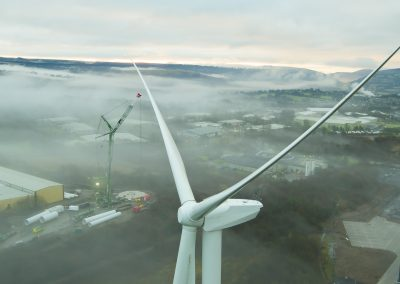 Wind Turbine Filming and Photography