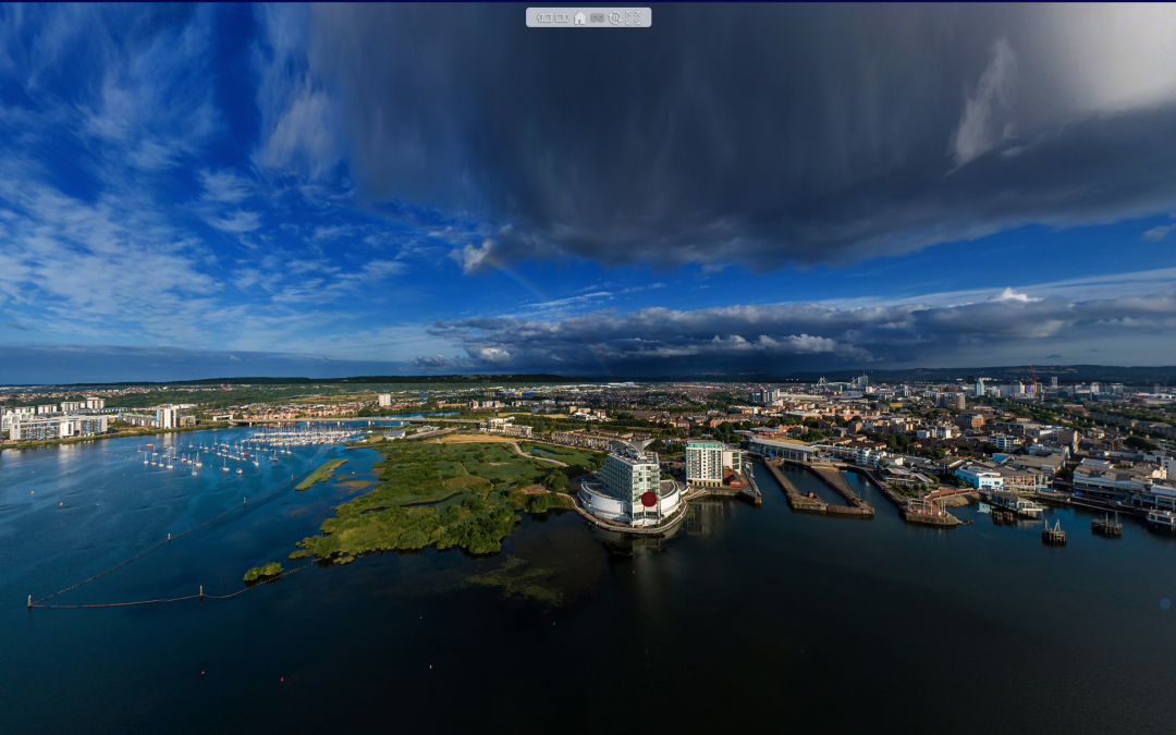Cardiff Bay, South Wales – 360° Virtual Tour