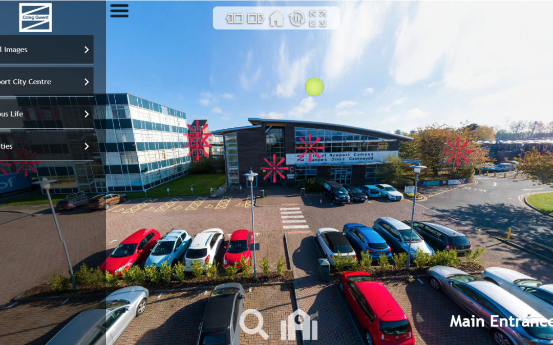 Coleg Gwent Virtual Tour – 360 Interactive Tours of our local College.