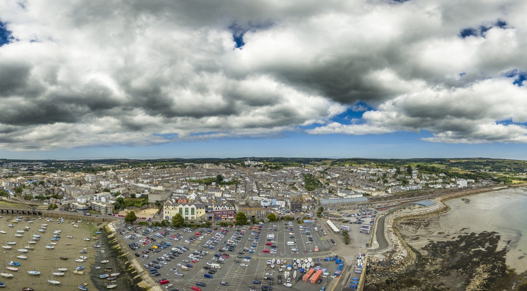 Penzance Commercial Aerial Photography
