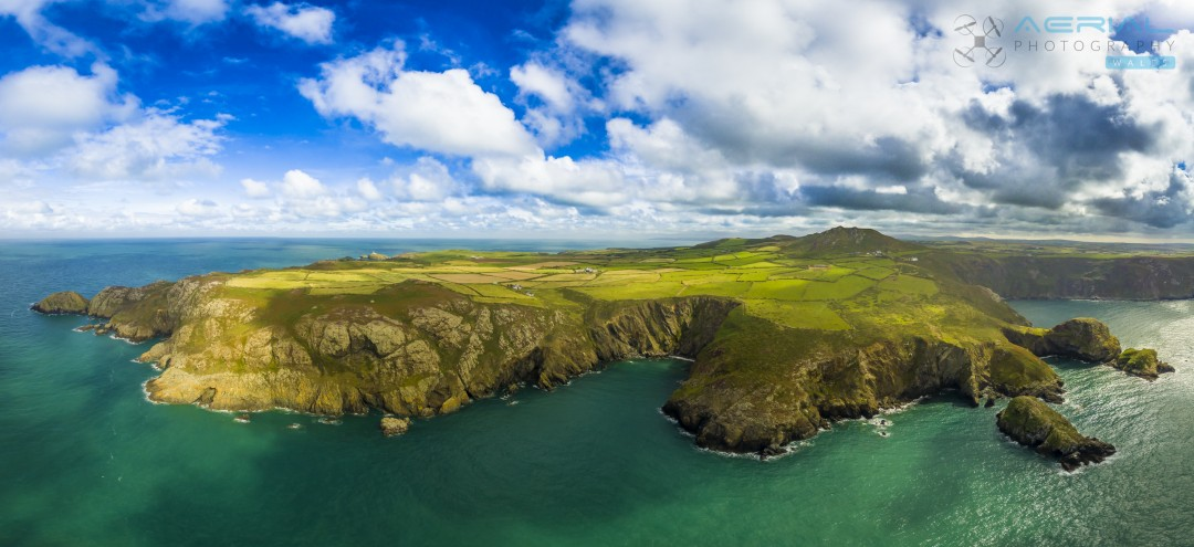 Trefasser, Pembrokeshire. Aerial Photography Wales