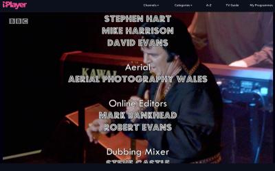 BBC 1 – Porthcawl Elvis Festival – Aerial Filming